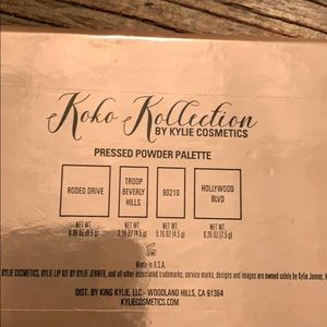 Kylie Cosmetics Makeup - Koko Kollection highlighter Palette
